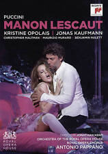 Manon Lescaut (Royal Opera House) (DVD, 2016) NEW & SEALED  Puccini