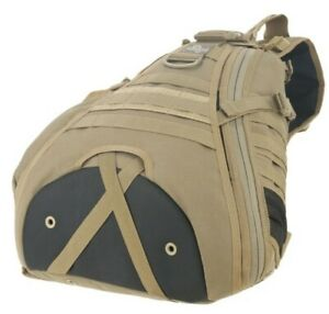 MAXPEDITION BEIGE MONSOON GEARSLINGER,BACK TO BACKM POCKETS WATER RESISTANT