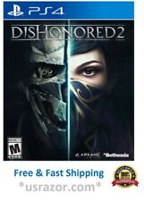 DISHONORED 2 GAME FOR SONY PLAYSTATION PS4 ARKANE BETHESDA PS 4 NEW SEALED USA