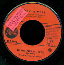 DICK RIVERS 45 TOURS FRANCE TU N'ES PLUS LA BEATLES
