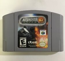 Asteroids Hyper 64 N64 Nintendo 64 Cart only Cleaned Tested working
