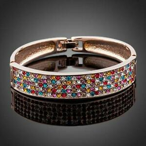 Gifts For A Special Friend SPARKLING CRYSTALS CUFF BANGLE KHAISTA