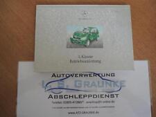 Betriebsanleitung Handbuch Mercedes Benz A-Klasse 168 1685841597 DE Ausgabe A/1
