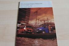 118190) Mercedes Sprinter Vito - Kipper - Pritsche - Prospekt 06/1998