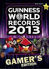 """""""AS NEW"""" Guinness World Records 2013 Gamer's Edition, Guinness, Book"""