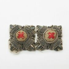 More details for ww2 red cross volunteer aid detachment officers collar pip badges uniform