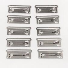 10 X Medal Ribbon Mounting Bars Brooch Pin Fixing 1 Space, for 35-37mm Ribbon!
