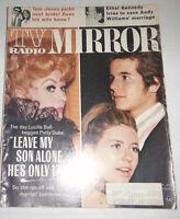 Tv Radio Mirror Magazine Lucille Ball & Ethel Kennedy September 1970 072914R