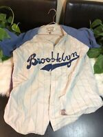 Brooklyn Dodgers Mirage Cooperstown Collection 1955 Jersey Medium Used Nice XL