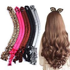 Heatless Curling Rod Headband Curls Silk Curler Hair Roller Soft Wave Forme$s