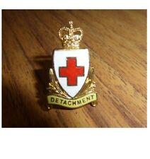 BRITISH RED CROSS DETACHMENT BADGE