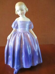 """ROYAL DOULTON  """"MARIE""""  YOUNG LADY FIGURINE  ARTIST SIGNED"""