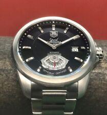 TAG Heuer Grand Carrera Chronometer Swiss Automatic 40mm WAV511A Black Dial