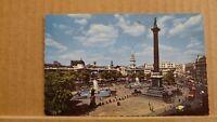 Postcard posted 1962 London Trafalgar Square