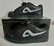 Adio Jeremy Wray Old School Skate Shoes Mens Size 10.5 Black Leather 63970