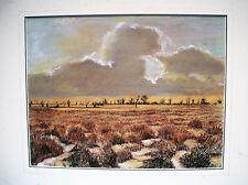 PASTEL-CRAIE GRASSE-KAO SOUTH-AFRIQUE DU SUD-KEN SULLY-SOUTH OF AFRICA-PAYSAGE