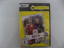 Fifa 10 PC Spiel DVD ROM EA Classics NEU und eingeschweißt