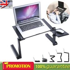 Portable Folding Adjustable Legs Laptop Desk Computer Sofa Table Stand Bed Tray
