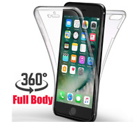 Luxury Soft TPU Silicone 360 Full Cover Case For Apple iPhone 7