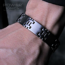 Power Ionics 100% Pure Titanium 5000Gauss Magnetic Therapy Healthy Bracelet Band