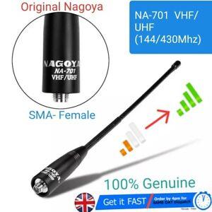 Latest! ORIGINAL Nagoya NA-701 Dual-Band Antenna SMA-Female Baofeng Radio