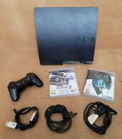 Sony PS3 Playstation 3 320GB Slim Console CECH-2503B + 2 Games and Controller