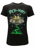 T-shirt Rick and Morty Navicella spaziale Raggio Laser 2020 maglia maglietta