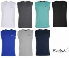 Pierre Cardin Vests Crew Neck Casual Shirts & Tops for Men