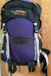 "Vintage Wilderness Experience Internal Frame Backpack 30""x16""x8"""