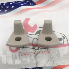 2PC Sun Visor Hook Clip For Chrysler 300 300c Dodge Charger Magnum 05-09 US Ship