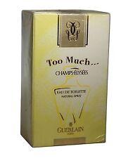 Too Much Champs-Elysees by Guerlain 1.0 oz 30 ml Eau de Toilette Women Spray New
