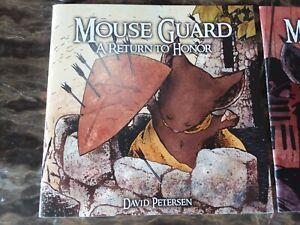 Mouse Guard book 5-6 David Petersen Archaia Studios Press 2 book lot (2006-2007)