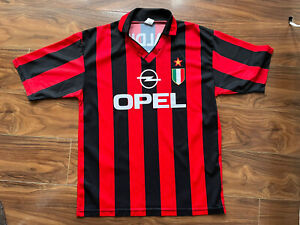 AC Milan 1996-97 Home Football Shirt VINTAGE CLASSIC retro #3 Paolo Maldini