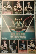 NYCC New York Comic Con 2017 Voltron Legendary Defender 11x17 Promo Poster New