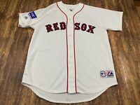 RARE 2008 Boston Red Sox Japan Opening Day MLB Baseball Majestic Jersey - Large