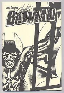 JUST IMAGINE BATMAN MUSEUM EDITION **signiert / signed** STAN LEE - 500 Ex. TOP
