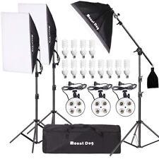 Mountdog Photography Photo Studio 2400W Softbox Photography Lighting Kit w/Bag