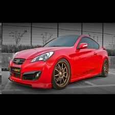 Side Skirts Unpainted For Hyundai Genesis coupe 2009~2015 Old Model / FL Model
