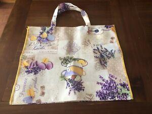 Borse di tela di cotone Tote Bag riutilizzabile della spesa della spesa borse di stoffa alla moda del fiore per lartigianato Happy