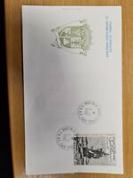 French Antartic 1985 Ship  on FDC K21