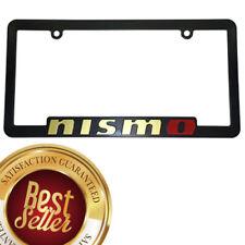 NISMO Nissan GOLD  Maxima Juke GTR Sentra 370Z 350Z Altima License Plate Frame