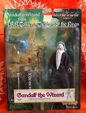NEW Gandalf The Wizard Figure Lord of the Rings Middle Earth TOY VAULT 1998 MOC