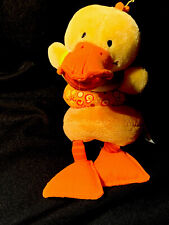 Lilliputiens Dancing Duck Chicken Pull Toy car seat hanging Vibrating J4