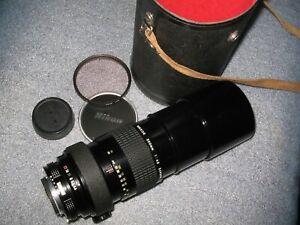✈ DHL Nikon Nikkor 300mm f/4,5, AI, MF