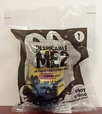 2013 McDONALDS DESPICABLE ME 2 #1 MINION TOM BABBLER HAPPY MEAL