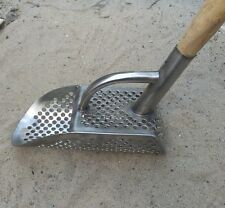Travel Sand Scoop Detecting Gold Silver Metal Detector Tool Stainless Steel