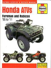 1995-2011 Haynes Honda ATVs: Foreman & Rubicon Hardback Repair Manual