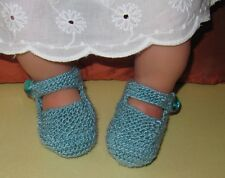 Knitting instructions-baby Respaldo Alto Alto Frontal Zapatos, Botines Tejer patrón