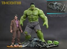 Ready! Hot Toys The Avengers 1/6 Bruce Banner and Hulk Regional Premium Edition