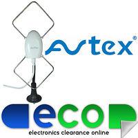 Avtex Portable 1224 V Digital TV Aerial Antenna Caravans HGV Boats & Motorhomes